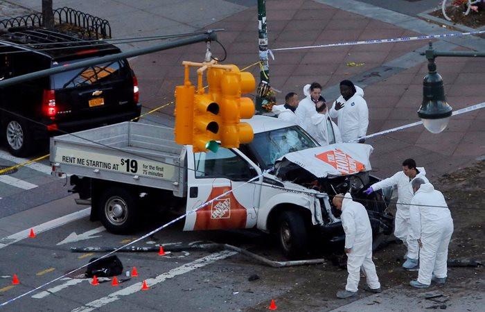 New York'ta terör saldırısı: 8 ölü, 15 yaralı