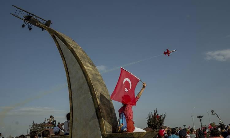 Türk Yıldızları 25. yılını  kutladı