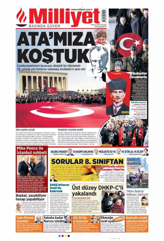 Günün gazete manşetleri (11 Kasım 2017)