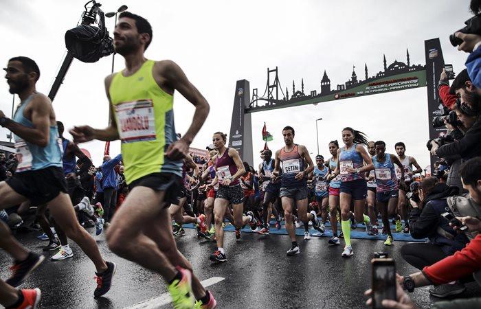 Vodafone 39. İstanbul Maratonu'nda kazanan belli oldu