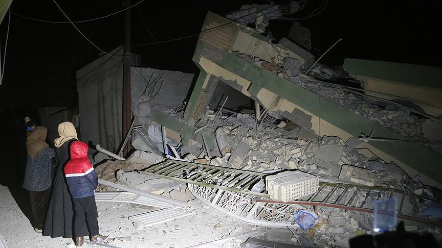 Irak'ta 7.3 büyüklüğünde deprem