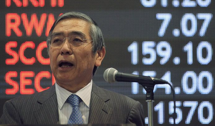 Kuroda: Enflasyon hedefine 2019'da ulaşılmasını bekliyoruz