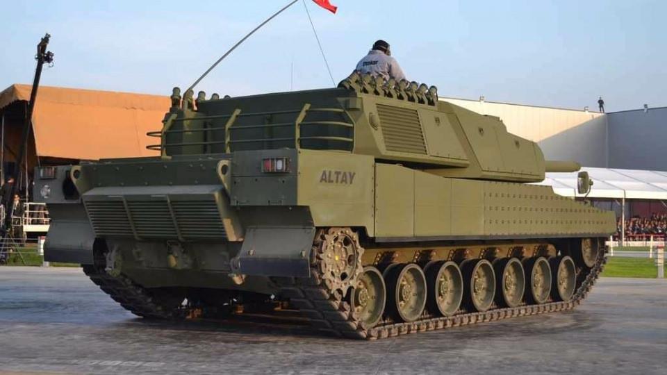 Altay Tankı'nda geri sayım başladı
