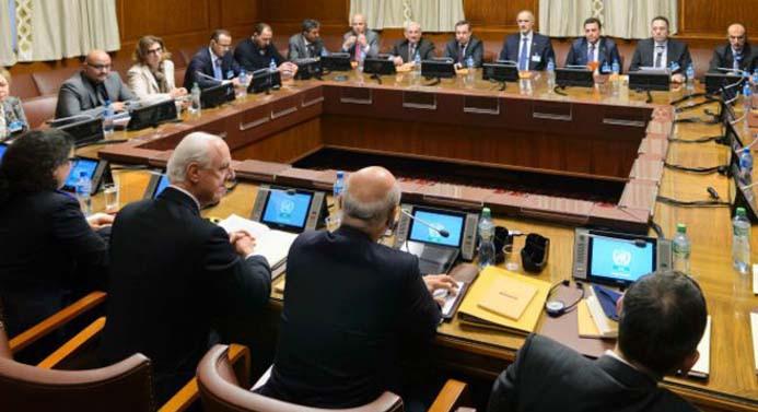 Cenevre'deki Suriye görüşmeleri bugün başlıyor