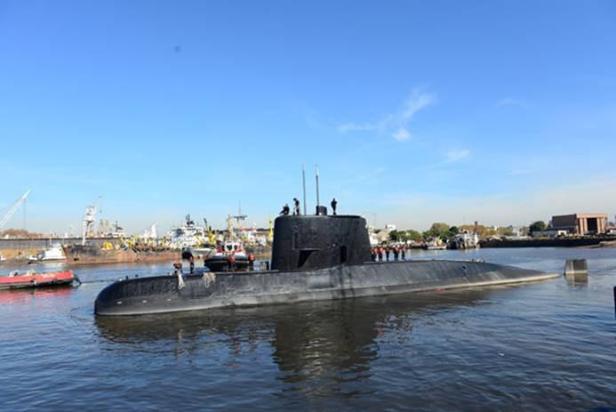 Kayıp denizaltı batmış olabilir