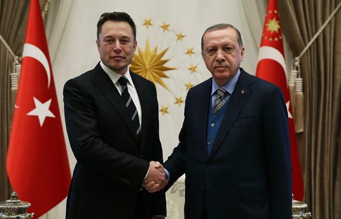 Elon Musk, Cumhurbaşkanı Erdoğan ile görüştü