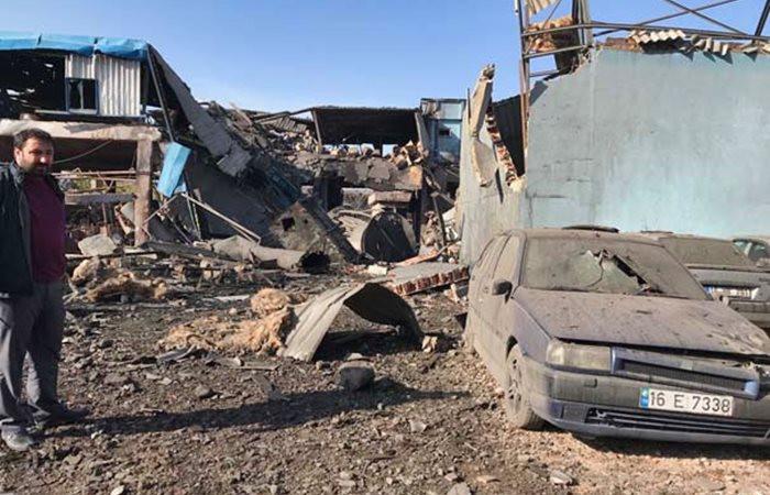 Bursa'da fabrikada patlama: 5 ölü, 14 yaralı