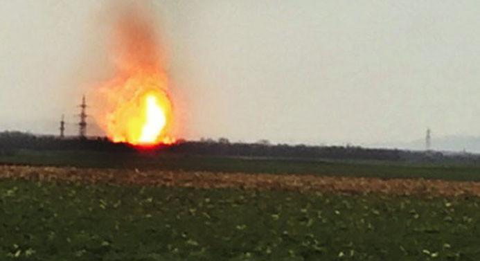 Avusturya'da doğalgaz boru hattında patlama: 1 ölü