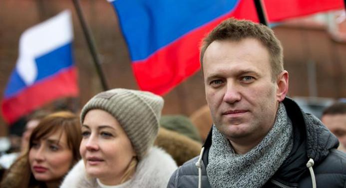 Putin'in rakibi Navalny: Devlet Başkanlığına adayım