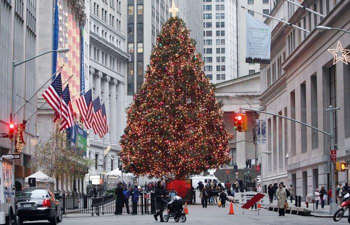 Borsalarda işlemlere Noel arası