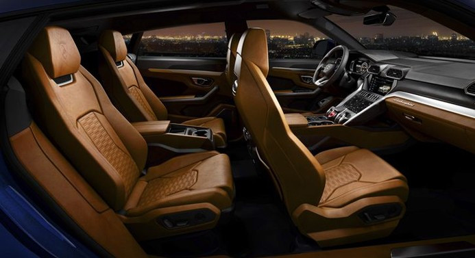 Lamborghini'nin ilk SUV modeli: Urus