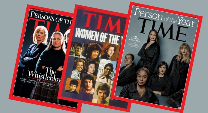 Time, Yılın İnsanlarını seçti