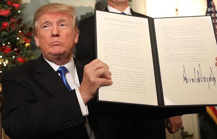 Trump, Kudüs kararını açıkladı