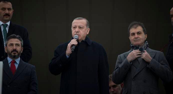 Cumhurbaşkanı Erdoğan'dan Kudüs tepkisi