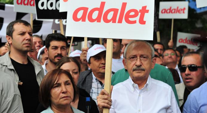 CHP 'Adalet Yürüyüşü'nü başlattı