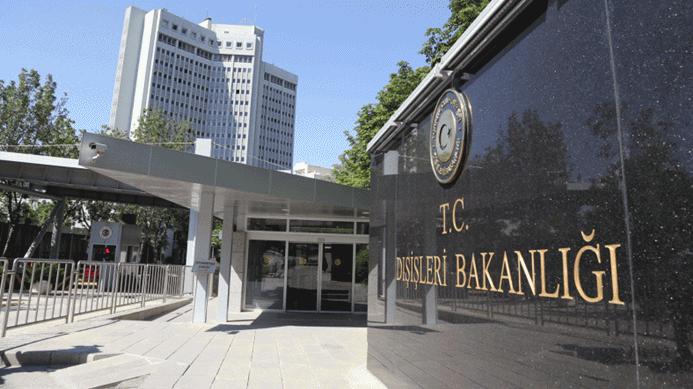 ABD Büyükelçisi Dışişleri'ne çağırıldı