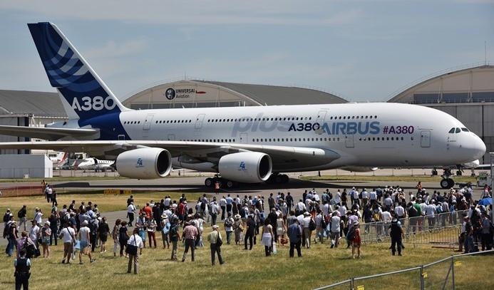 En yeni uçaklar Paris'te görücüye çıktı