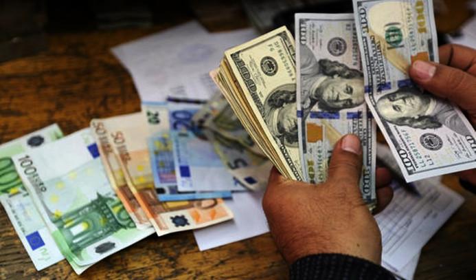 Dolar sakin, euro yükselişte