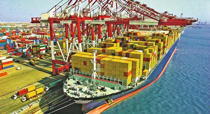 Türk limanlarına gelen gemi sayısı yüzde 7,56 arttı