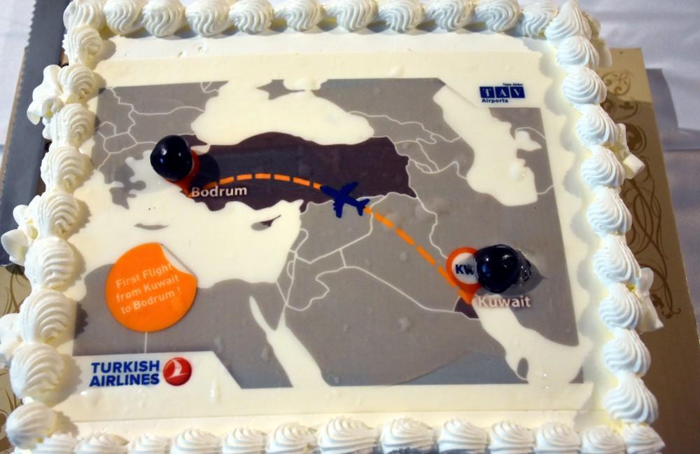 Kuveyt-Bodrum hattında tarifeli uçuşlar başladı