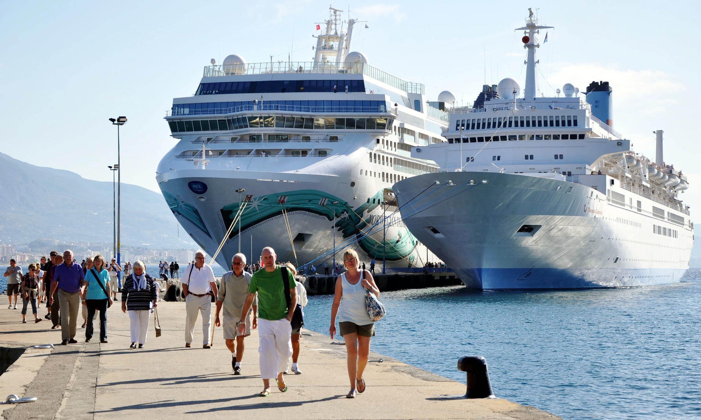 Kruvaziyer turizmi 2017'de 58 daraldı