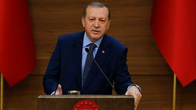Erdoğan: Alman bakanın yaptığı açıklamaları kınıyorum