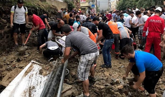 İstanbul'da hayat felç oldu