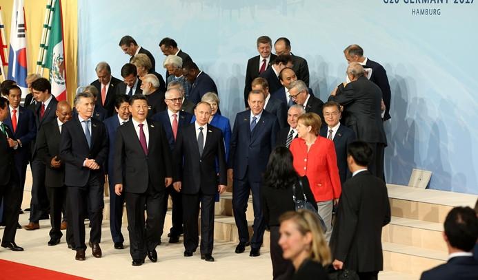 G20 Lider Zirvesi protestoların gölgesinde başladı