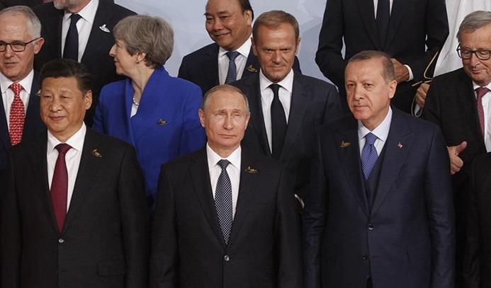 Cumhurbaşkanı Erdoğan, G20'de 10 ülkenin liderleriyle görüştü