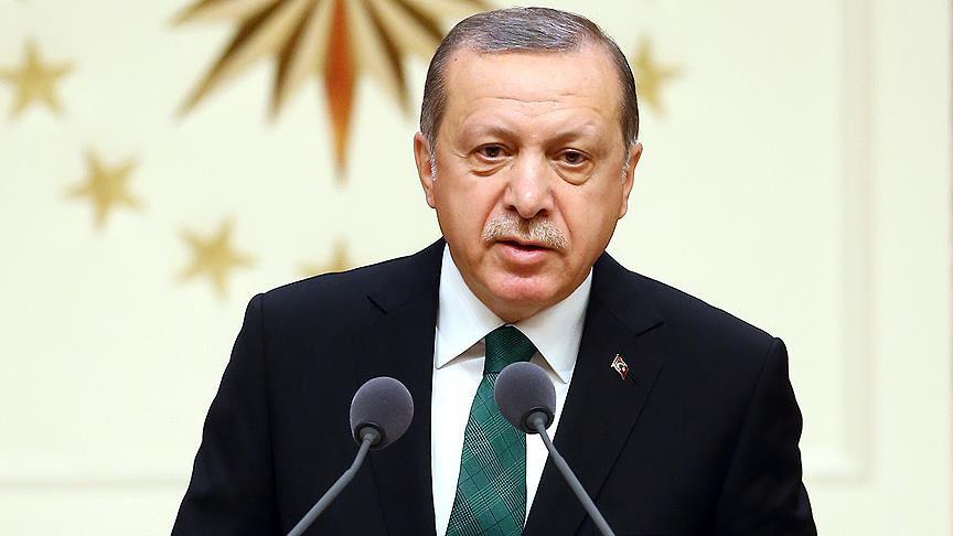 Erdoğan: Derin üzüntü duyuyoruz