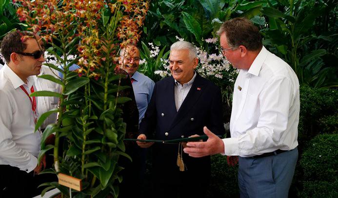 Yıldırım'ın ismi orkideye verildi