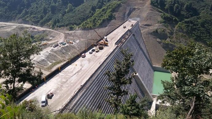 Ballıkaya Barajı'nın yüzde 81'i tamamlandı