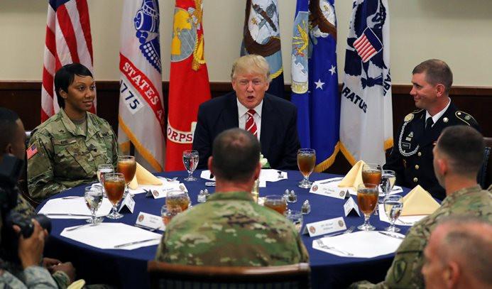 Trump'tan Kuzey Kore'ye: ABD'yi tehdit etmeyi bırak