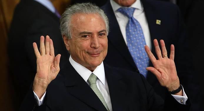 Brezilya Devlet Başkanı Temer'e yeni suçlama