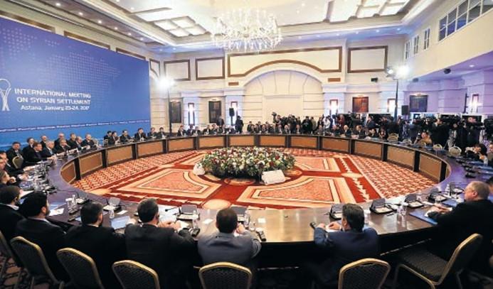 Astana'da İdlib için anlaşmaya varıldı