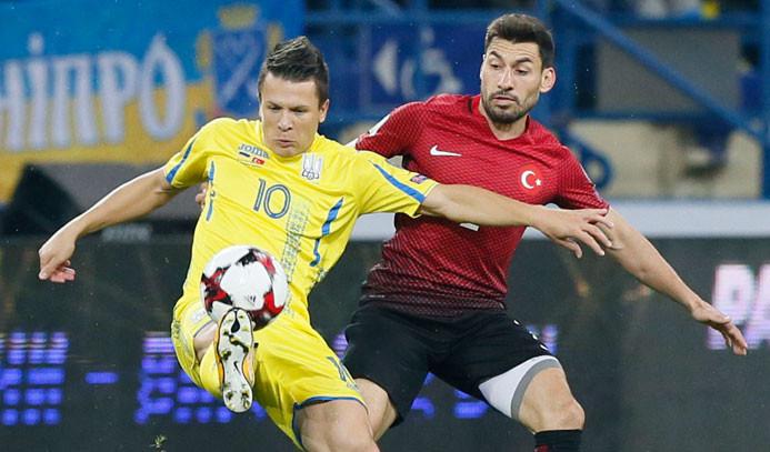 Türkiye deplasmanda Ukrayna'ya 2-0 yenildi