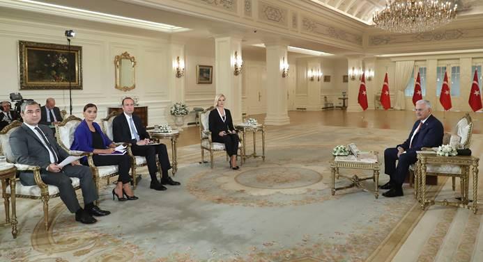 Başbakan Yıldırım: Savaşa girdiğimiz yok