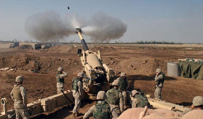 TSK, Afrin'deki PYD mevzilerini vuruyor