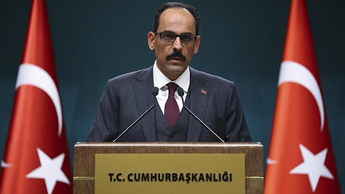 Cumhurbaşkanlığından 'YPG ordusu' açıklamasına yanıt