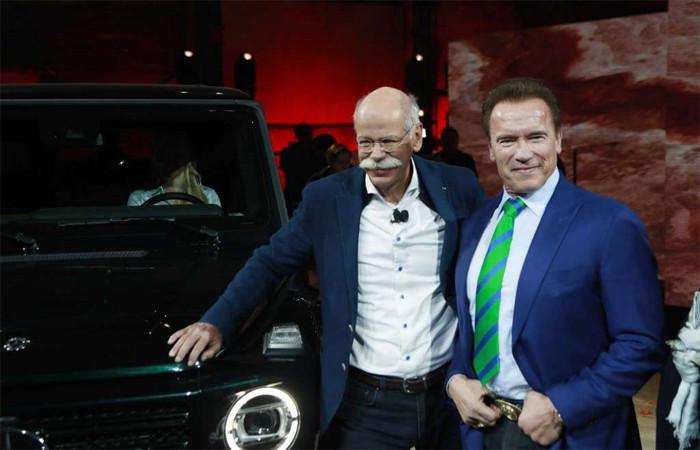 """Mercedes'in yeni """"terminatörü"""" görücüye çıktı"""