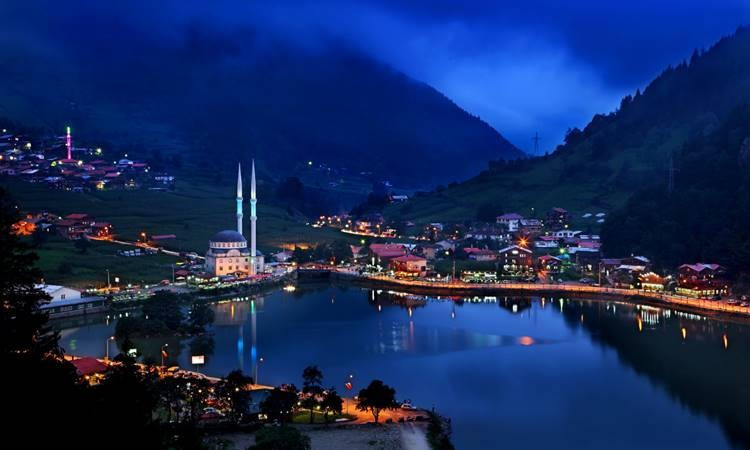 Trabzon'daki milli parklara yoğun ilgi
