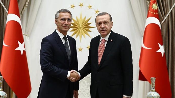 Erdoğan'dan NATO'ya 'YPG ordusu' mesajı