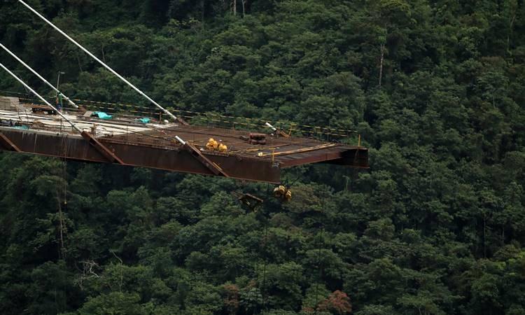 Kolombiya'da köprü inşaatında çökme: 9 ölü, 8 yaralı