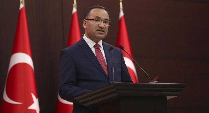 Bozdağ: Türkiye sabrının son noktasına gelmiştir