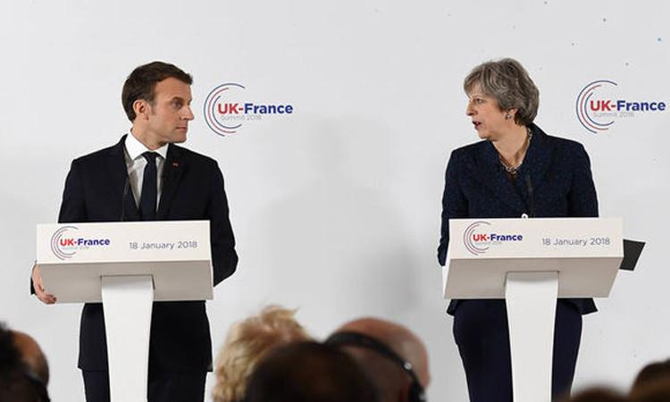 İngiltere ve Fransa liderlerinden güçlü işbirliği mesajı