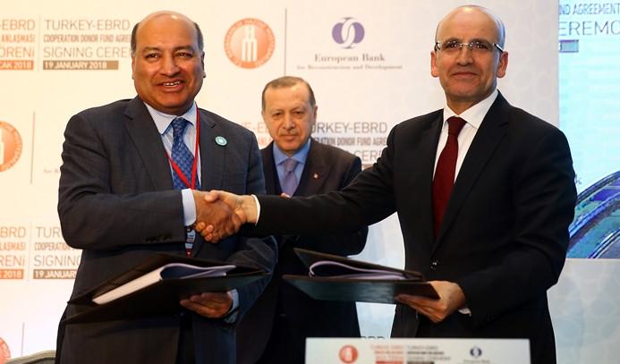 Türkiye ile EBRD arasında ortak fon kuruldu