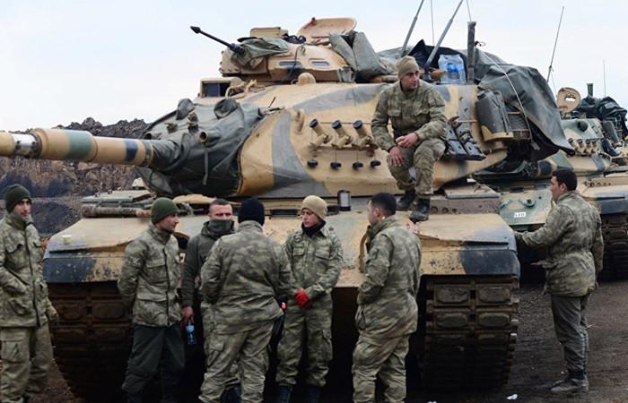 TSK, Azez'den operasyon başlattı