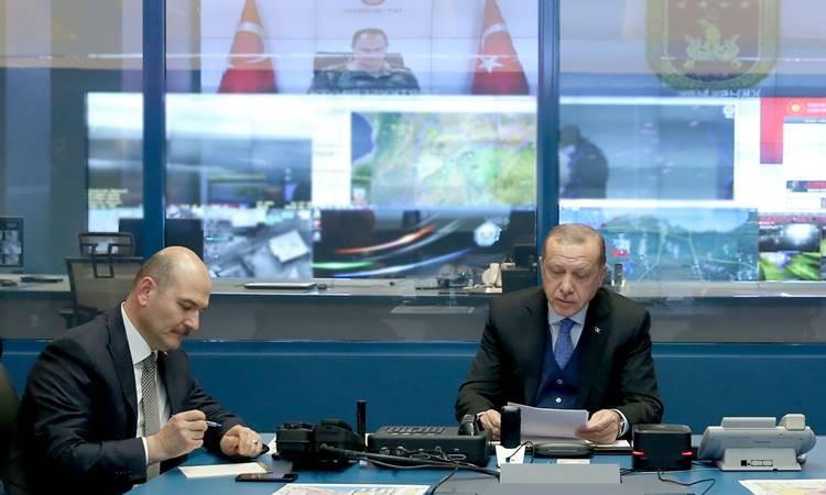 Erdoğan, harekatla ilgili bilgi aldı