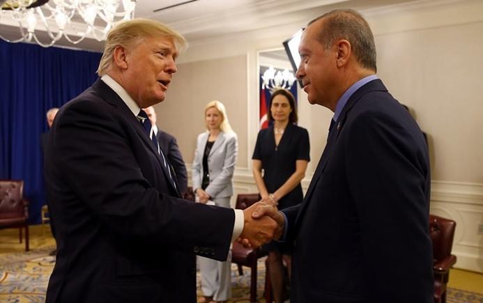 Cumhurbaşkanı Erdoğan Trump'la görüşecek