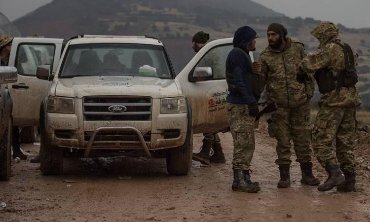 ÖSO'nun Afrin'deki ilerleyişi böyle görüntülendi